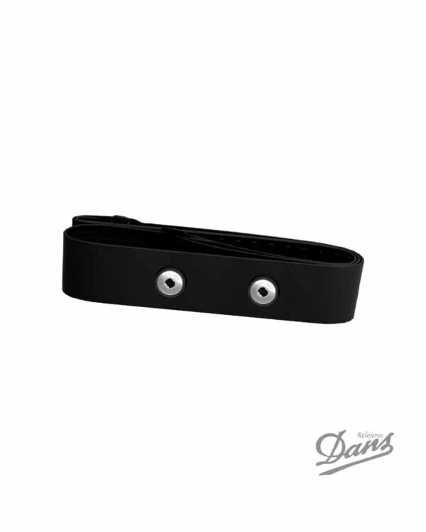 Banda elástica Polar Pro negra para sensor H1, H2 , H3, H6, H7, H10 Dans Relojeros