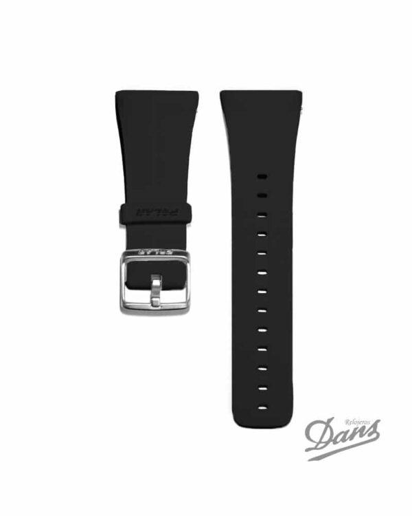 Recambio correa Polar M400 original en negro Dans Relojeros