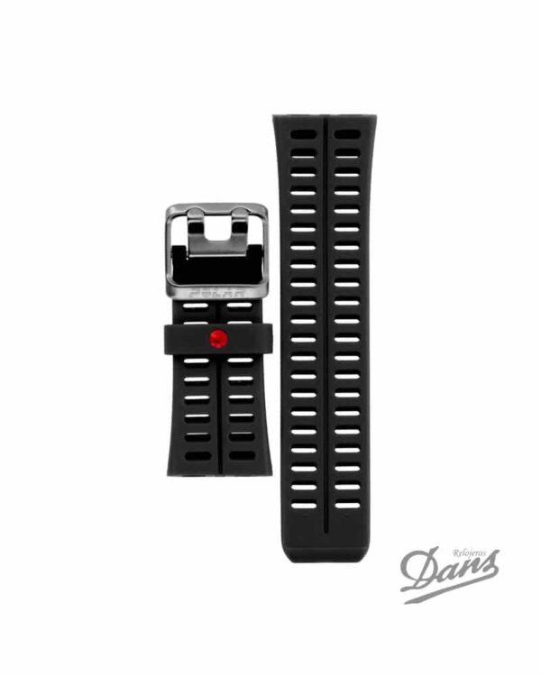 Recambio correa Polar V800 original en negro Dans Relojeros