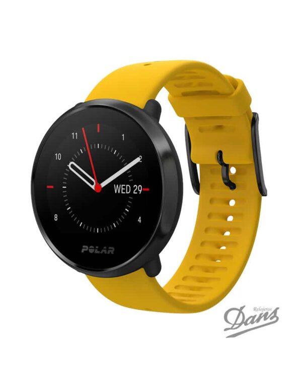 Reloj GPS Polar Ignite Amarillo Dans Relojeros