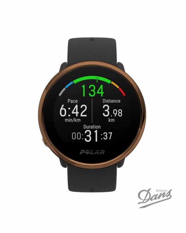 Reloj GPS Polar Ignite Negro Dans Relojeros