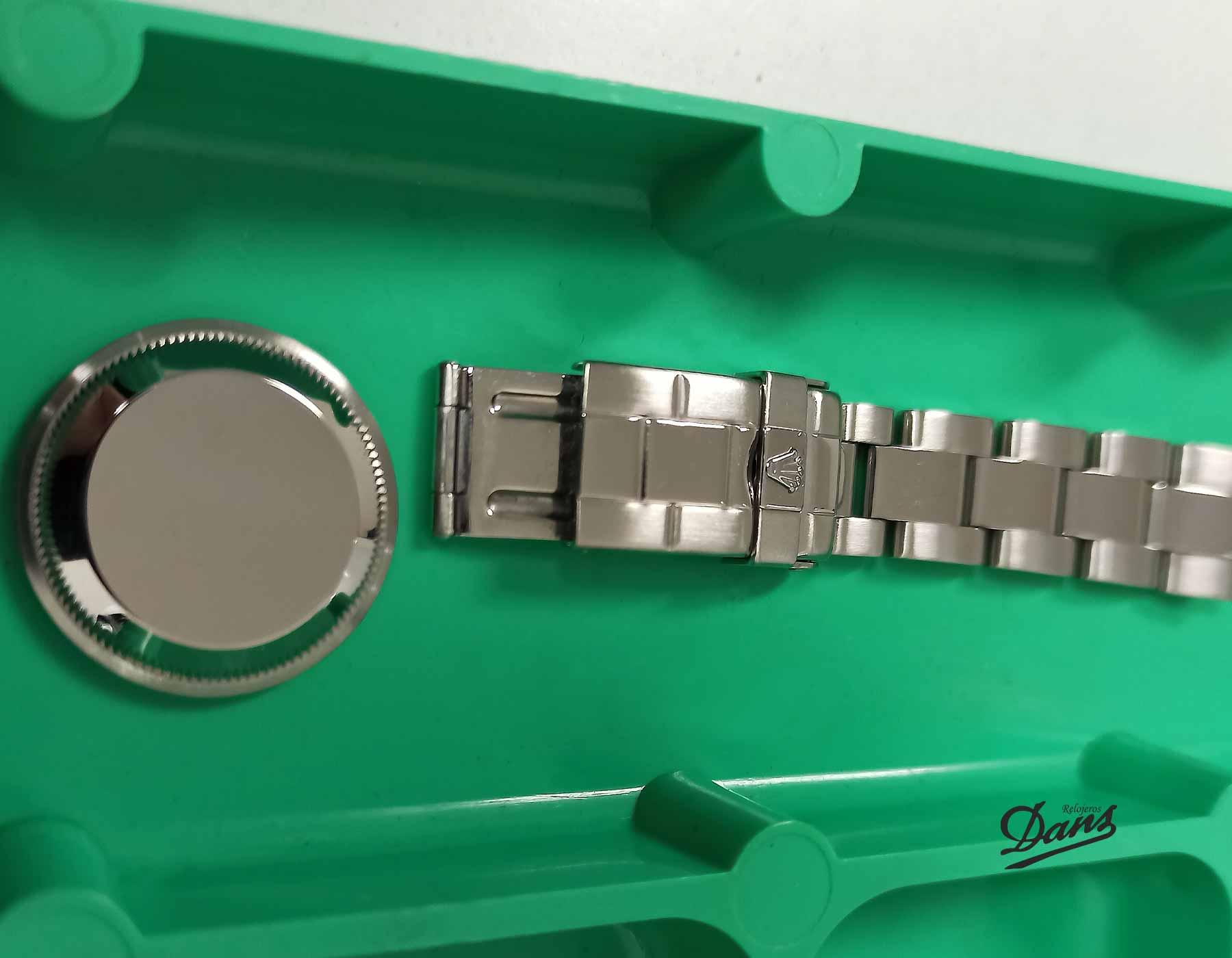 Restauración exterior reloj Rolex Dans Relojeros