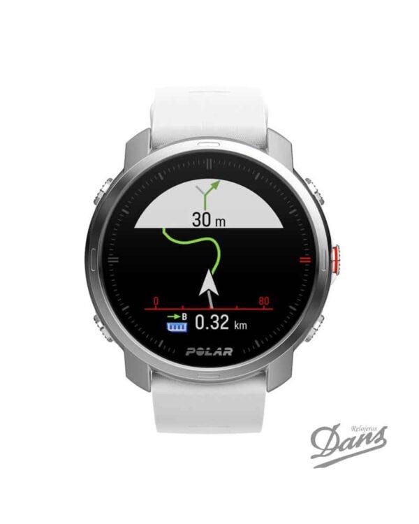 Reloj GPS Polar Grit X blanco Dans Relojeros