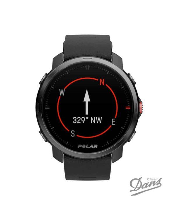 Reloj GPS Polar Grit X negro Dans Relojeros