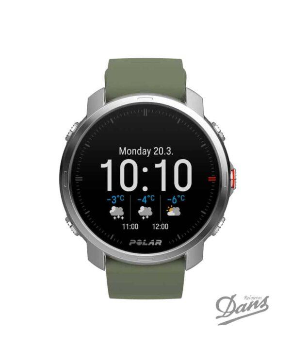 Reloj GPS Polar Grit X verde Dans Relojeros